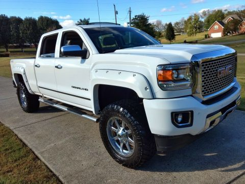 well equipped 2015 GMC Sierra 2500 Denali HD lifted for sale