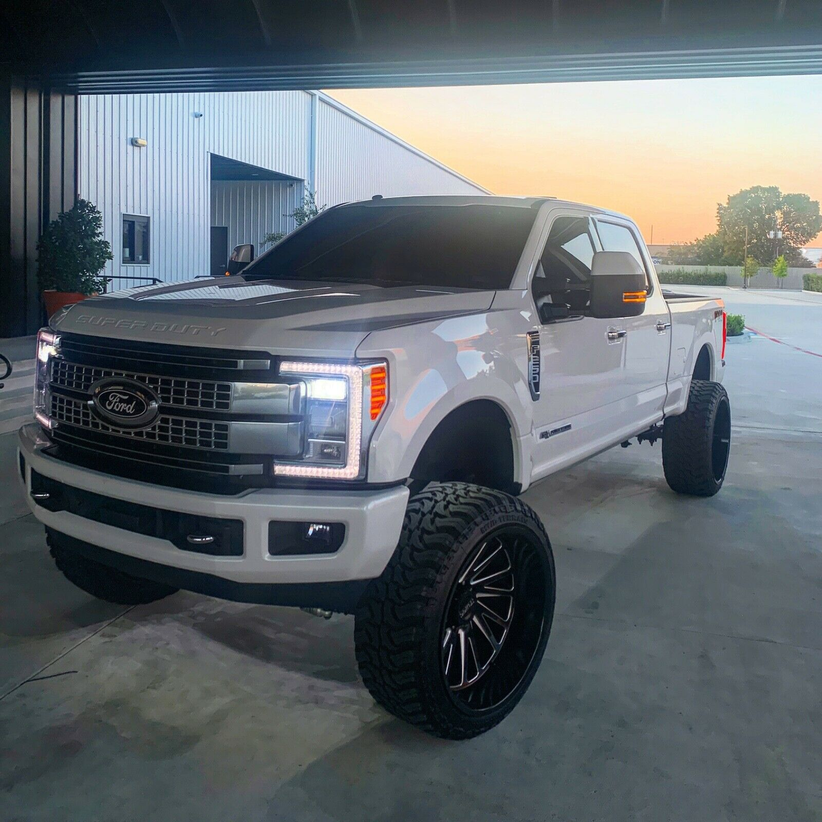 loaded 2017 Ford F 250 lifted