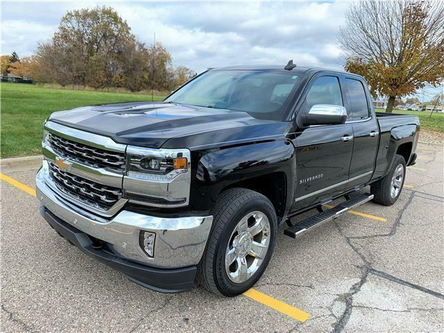 low miles 2017 Chevrolet Silverado 1500 LTZ lifted for sale