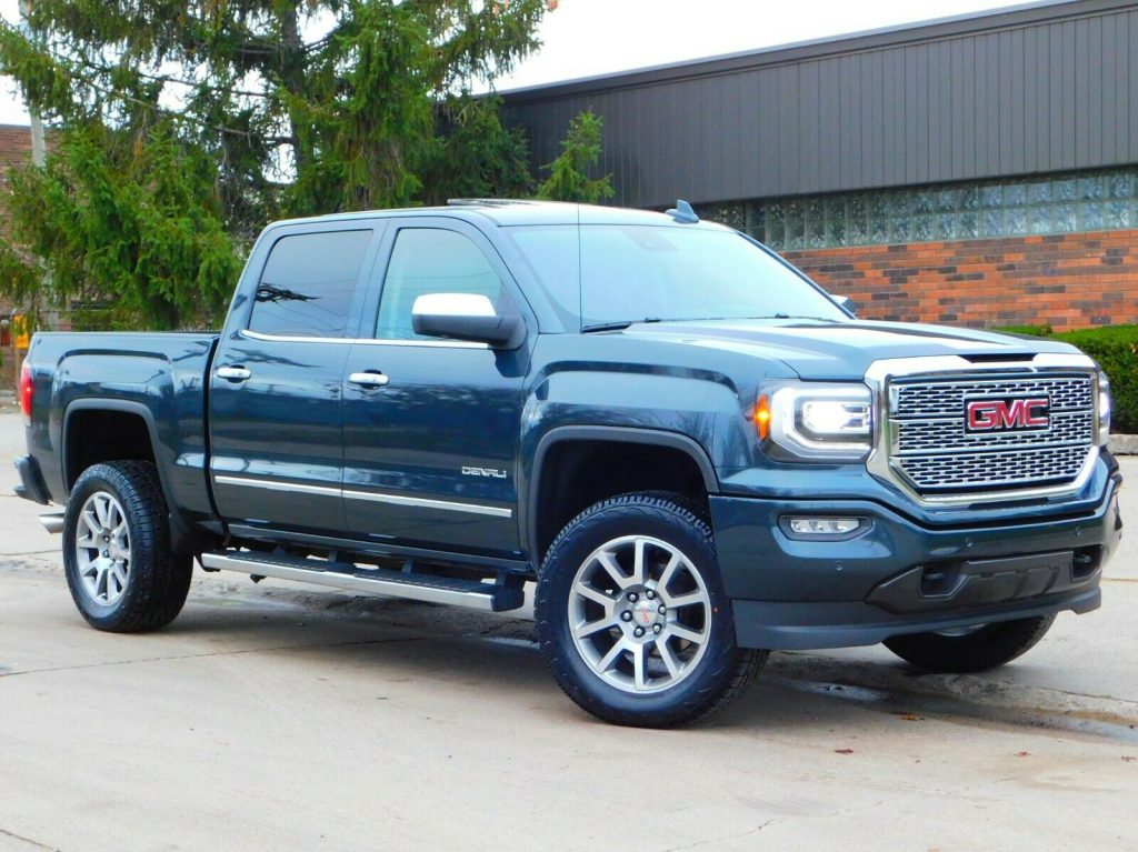 low miles 2017 GMC Sierra 1500 Denali Edition lifted