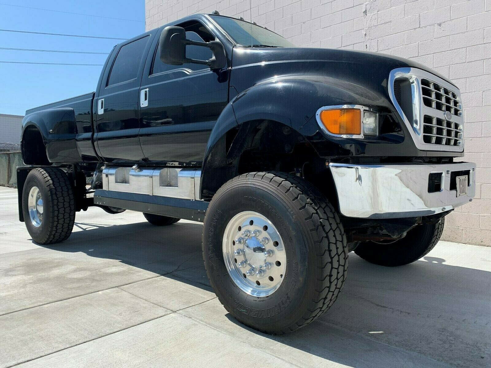 badass 2003 Ford F650 Super Truck lifted for sale
