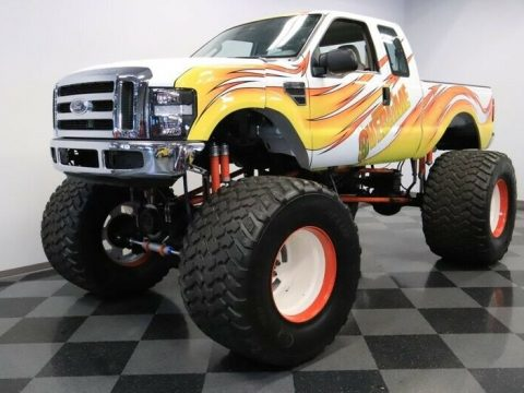 badass monster 2008 Ford F 250 lifted for sale