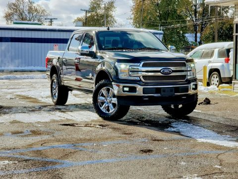 fully loaded 2018 Ford F 150 King Ranch pickup lifted for sale