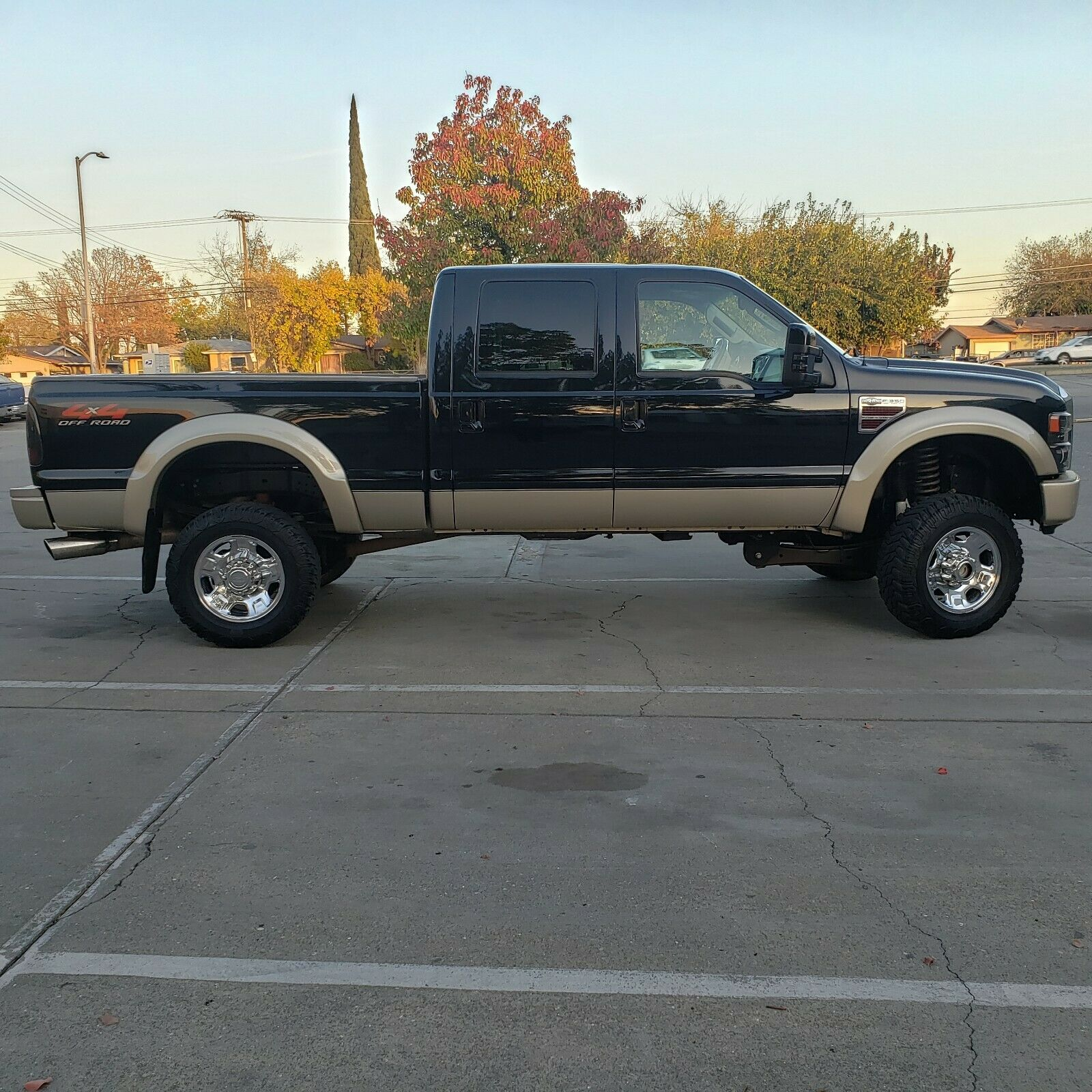 great working 2008 Ford F 350 King Ranch lifted
