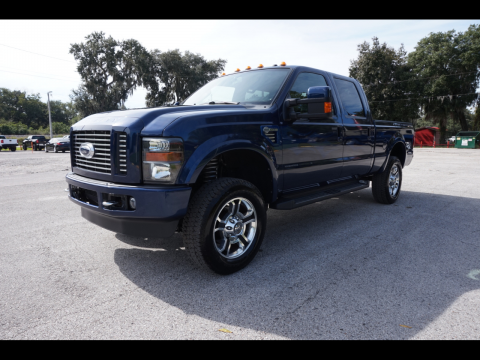 low miles 2009 Ford F 250 Harley Davidson Super DUTY lifted for sale