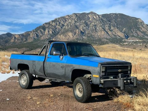 modified 1985 Chevrolet C/K Pickup 2500 Custom Deluxe lifted for sale