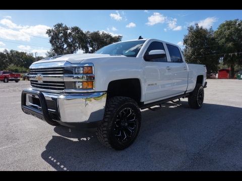 very clean 2018 Chevrolet Silverado 2500 LT lifted for sale