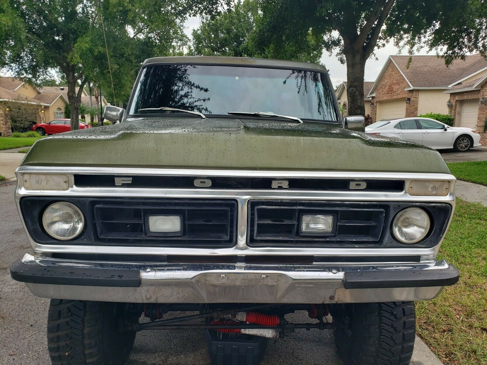 new parts 1976 Ford F 100 Ranger lifted