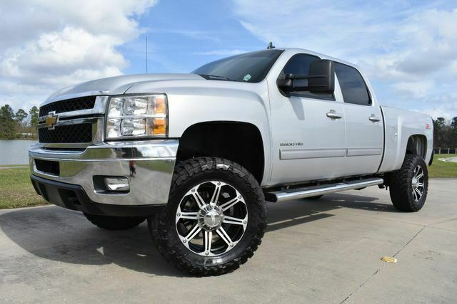 clean 2013 Chevrolet Silverado 2500 LTZ lifted for sale