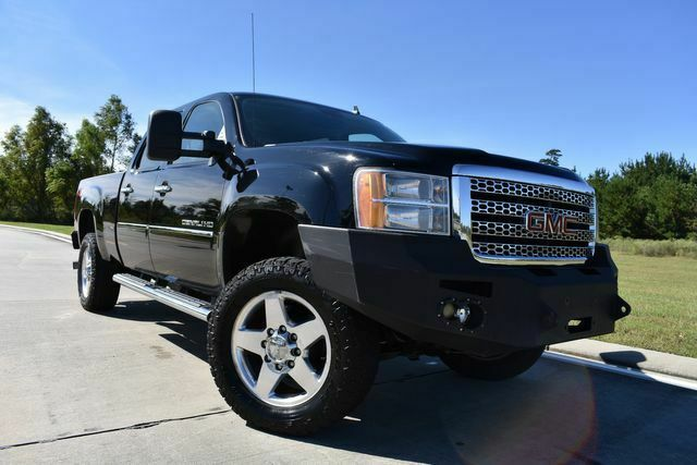 fully loaded 2012 GMC Sierra 2500 Denali lifted for sale