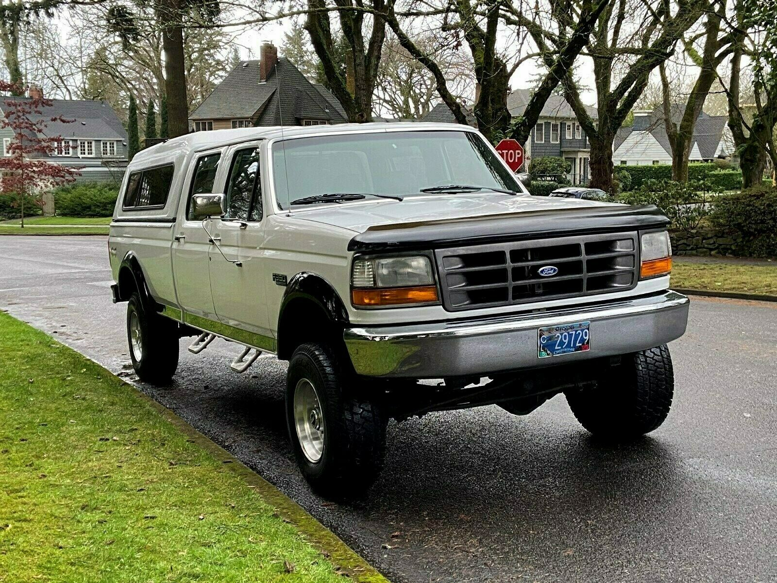 rust free 1995 Ford F 350 XL lifted for sale