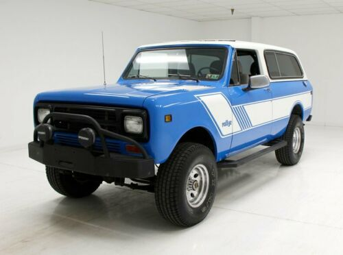 very nice 1980 International Scout lifted