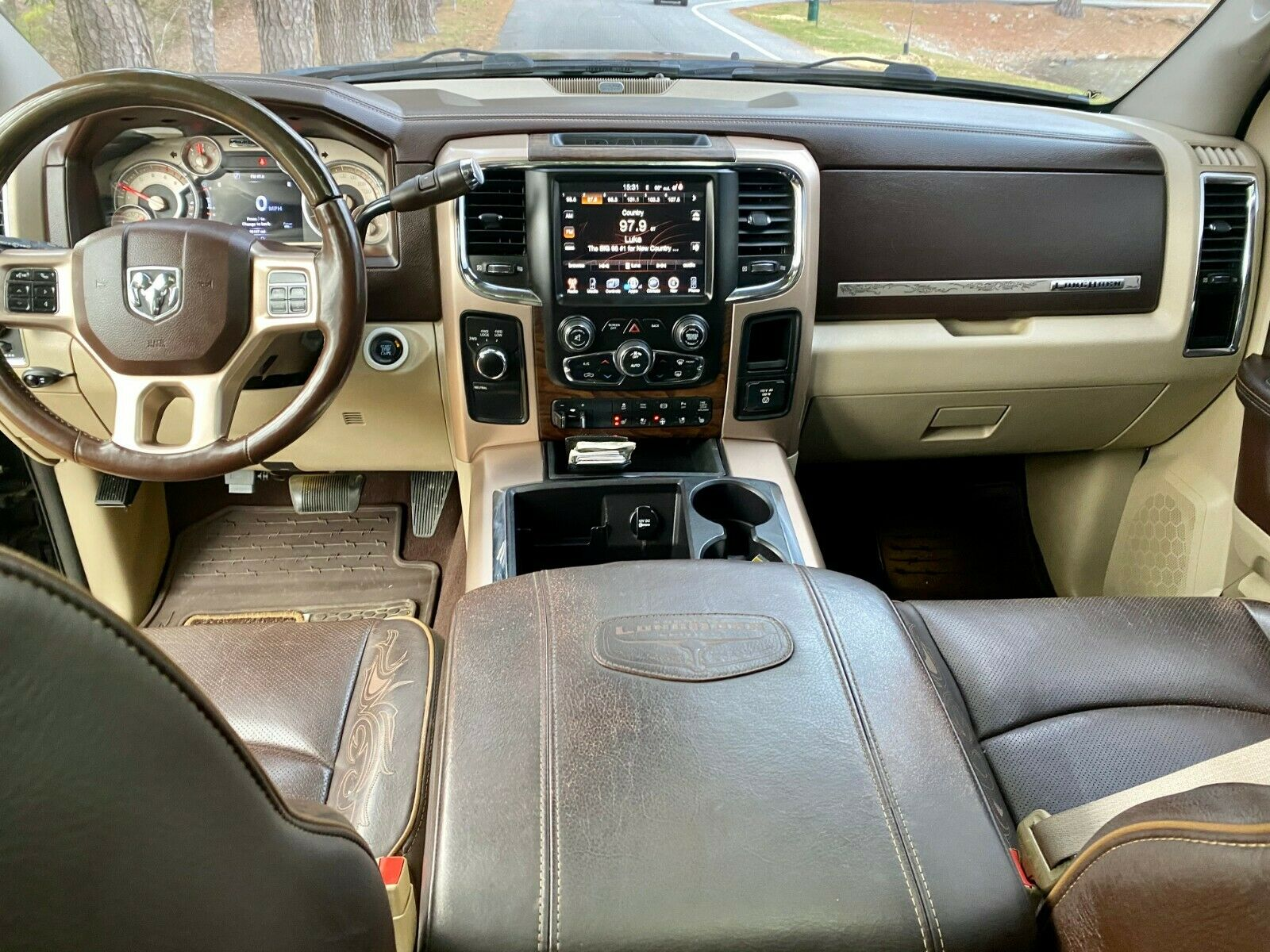 loaded with extras 2013 Dodge Ram 2500 Laramie Longhorn lifted