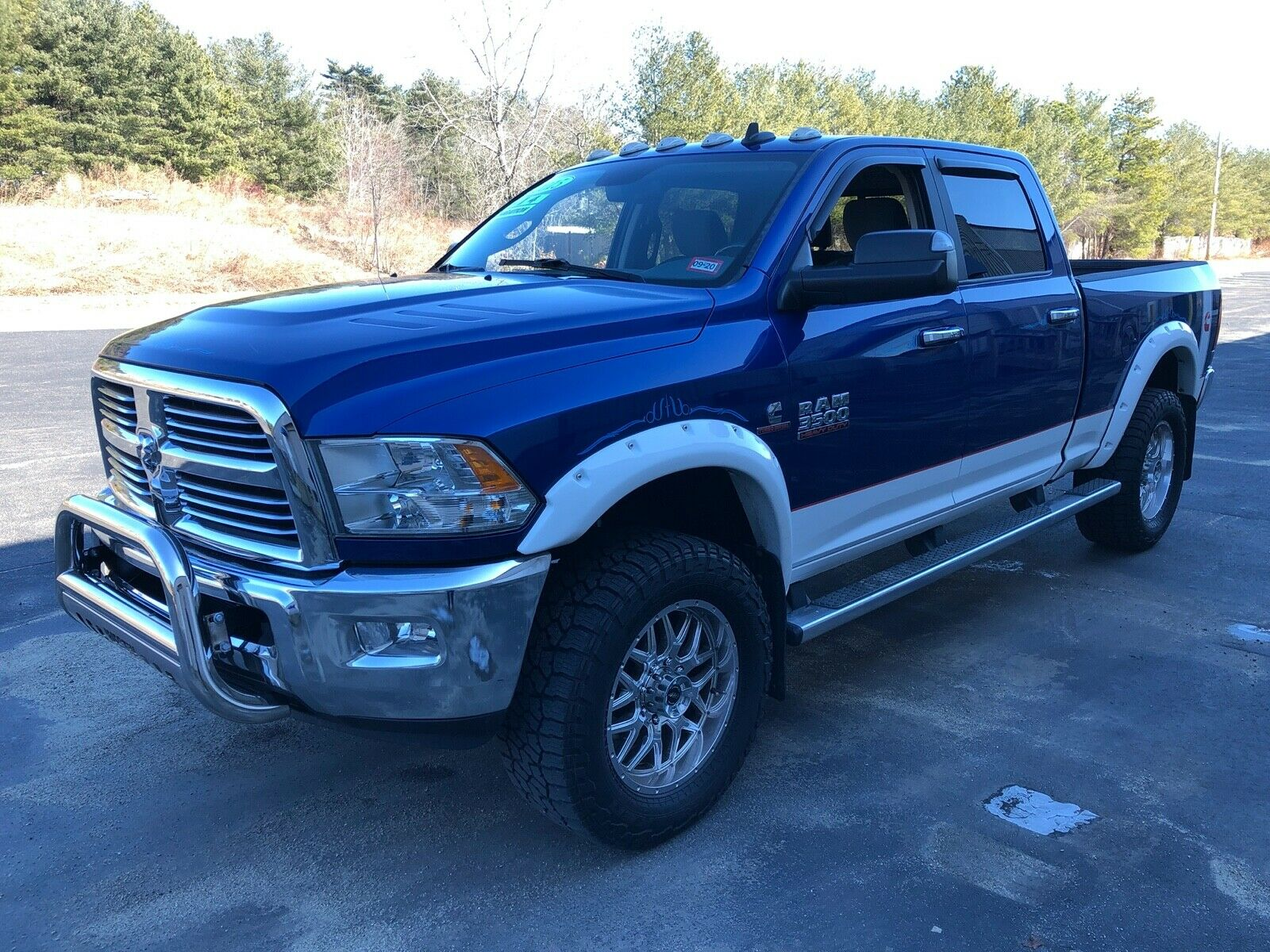 low mileage 2015 Ram 3500 BIG HORN lifted