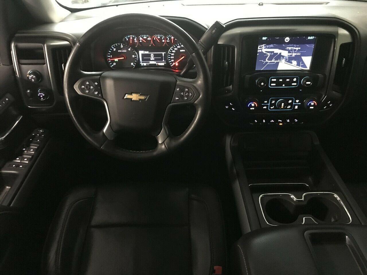 low miles 2015 Chevrolet Silverado 1500 Z71 Midnight EDITION lifted