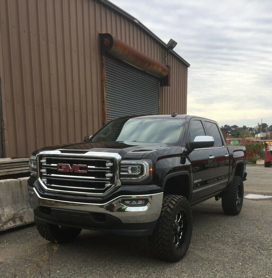 low miles 2016 GMC Sierra 1500 K1500 SLT lifted for sale