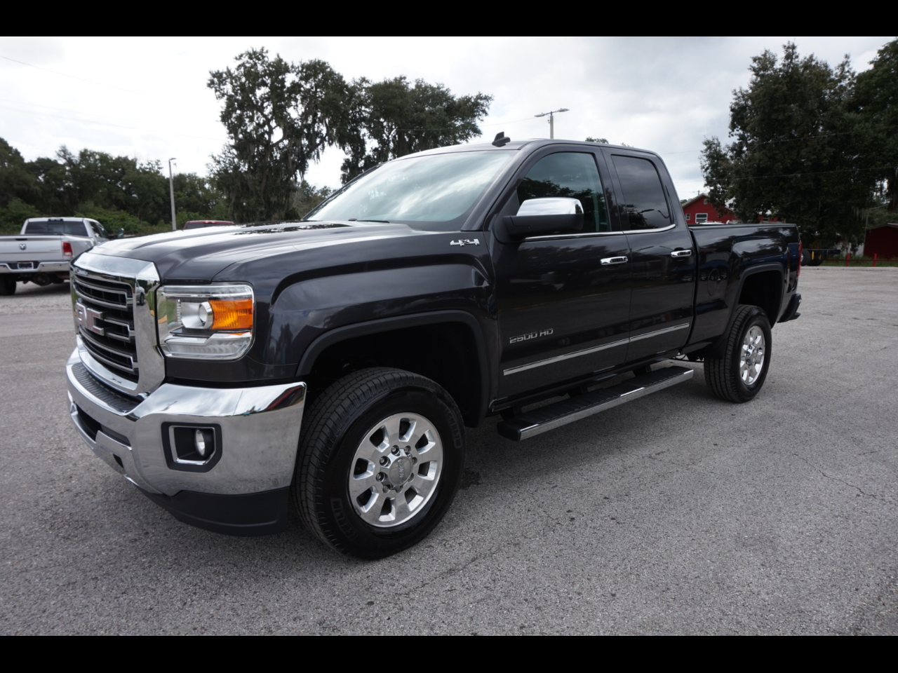 very clean 2015 GMC Sierra 2500 SLT lifted for sale