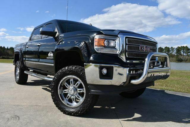 well equipped 2014 GMC Sierra 1500 SLT lifted for sale