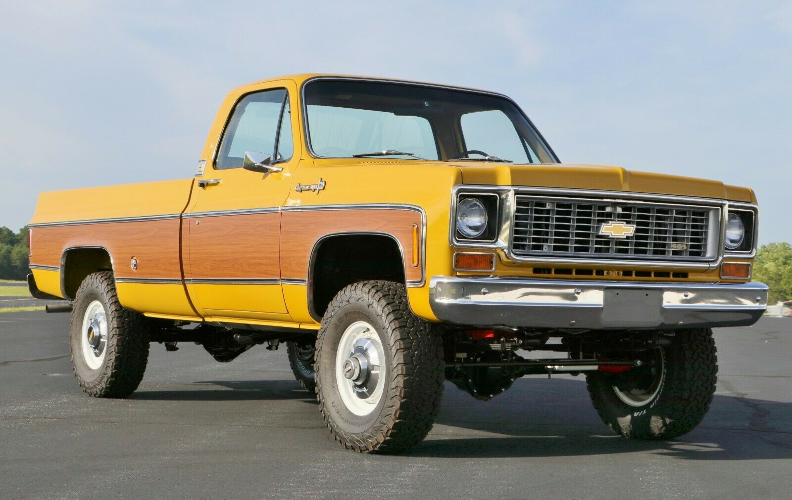 4×4 conversion 1973 Chevrolet C/K Pickup 3500 C20 lifted for sale