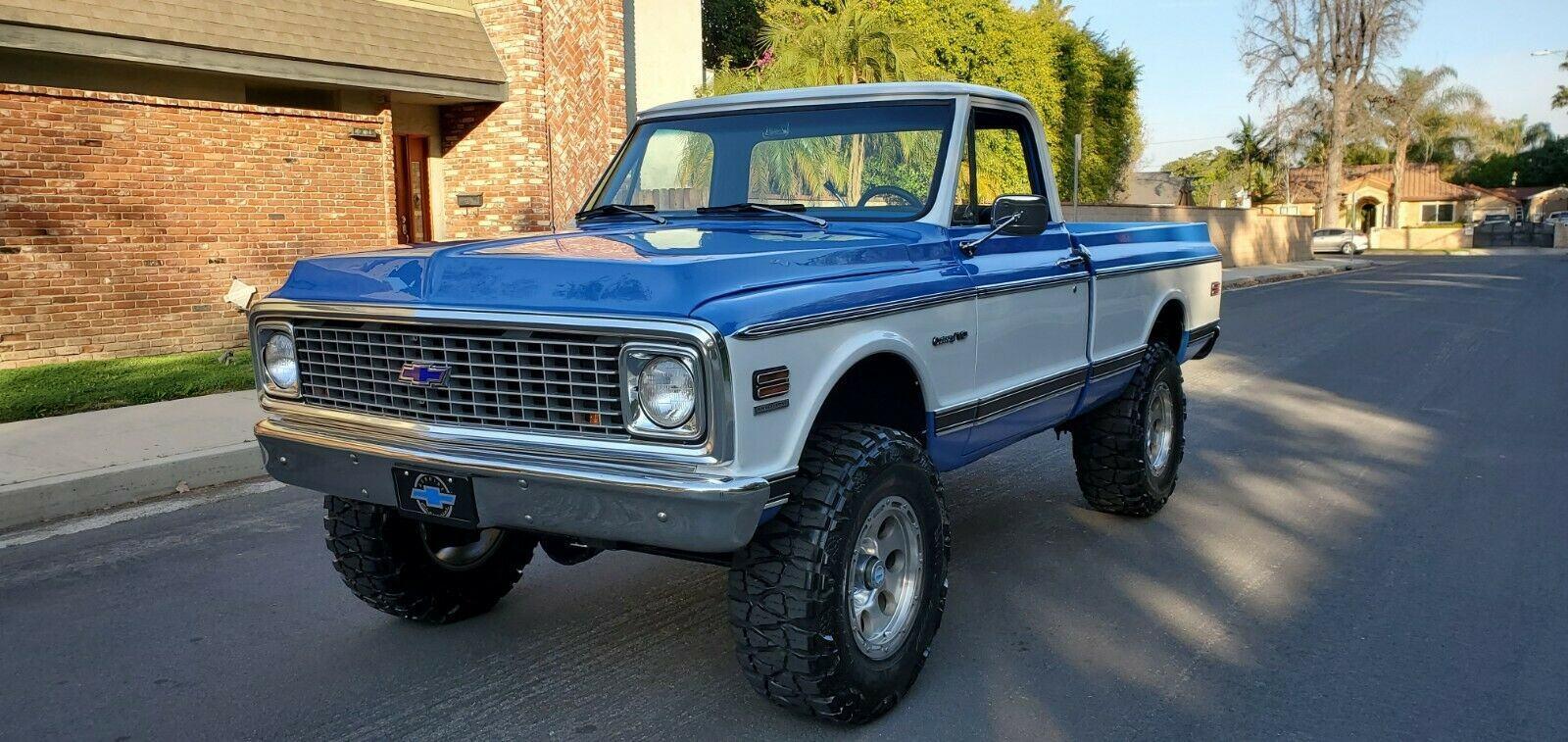 modified 1972 Chevrolet C/K Pickup 1500 K10 lifted