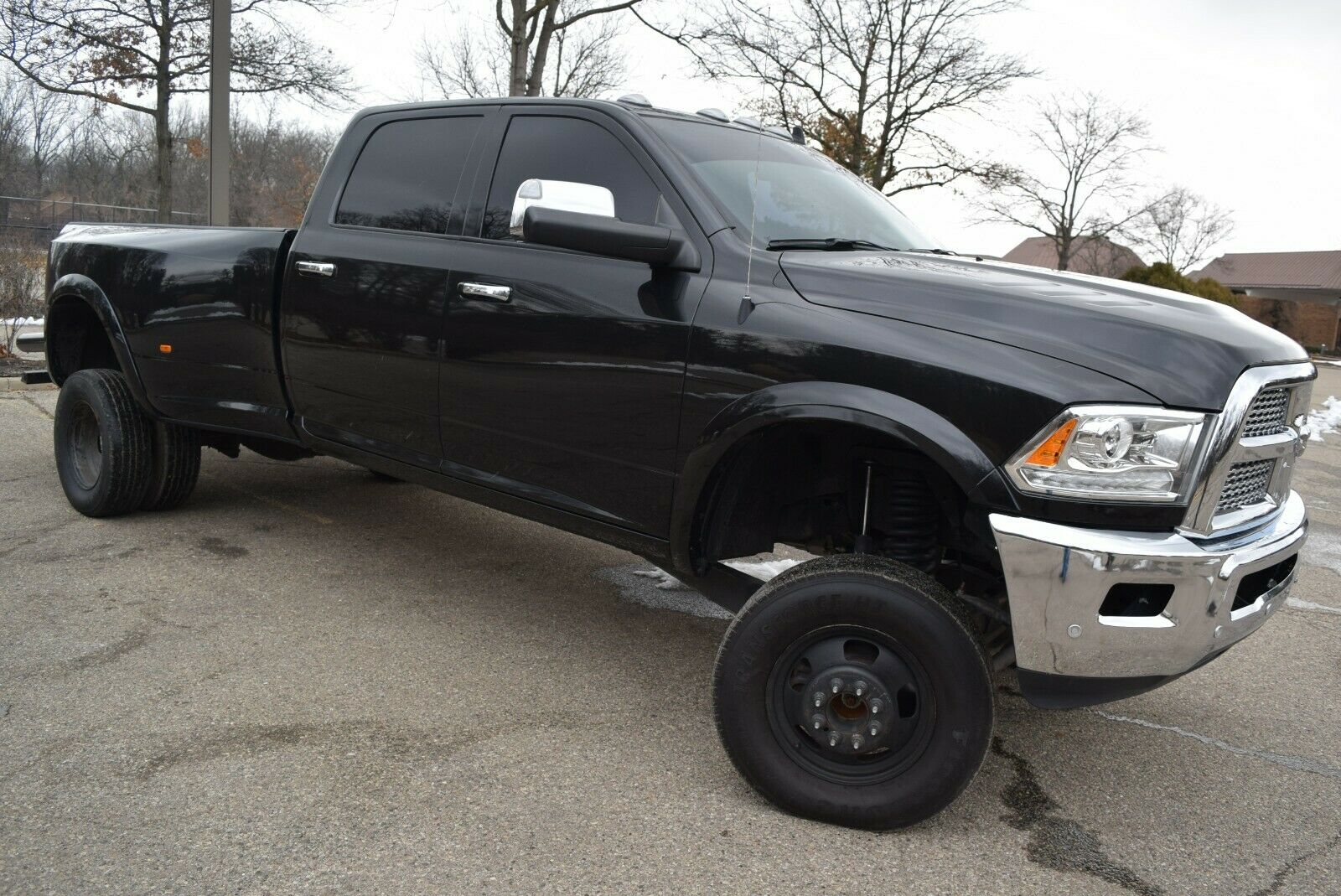 one of a kind 2018 Dodge Ram 3500 Laramie Edition lifted