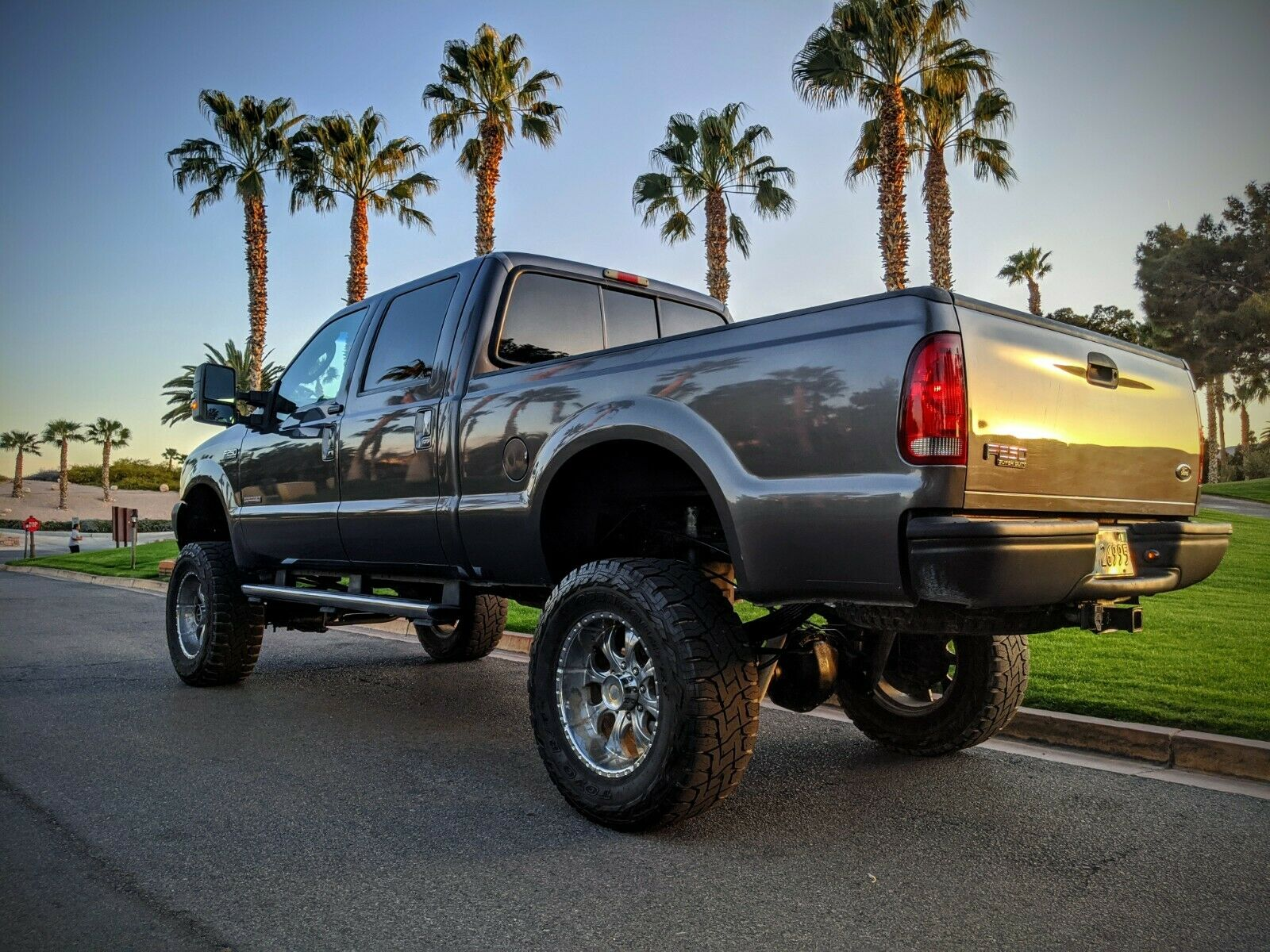 rust free 2004 Ford F 250 Short BED lifted