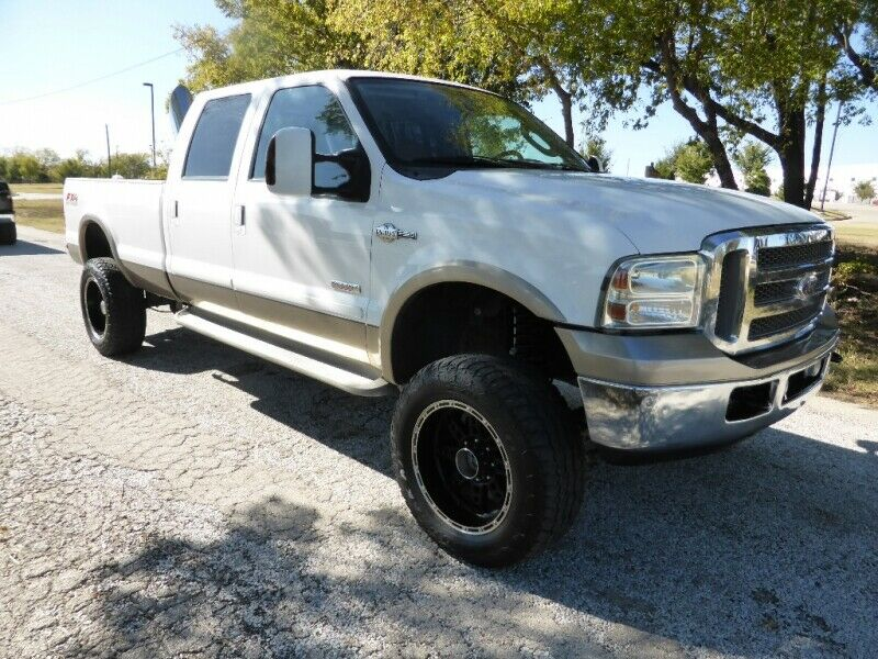 very nice 2006 Ford F 350 Crew Cab 172 King Ranch lifted for sale