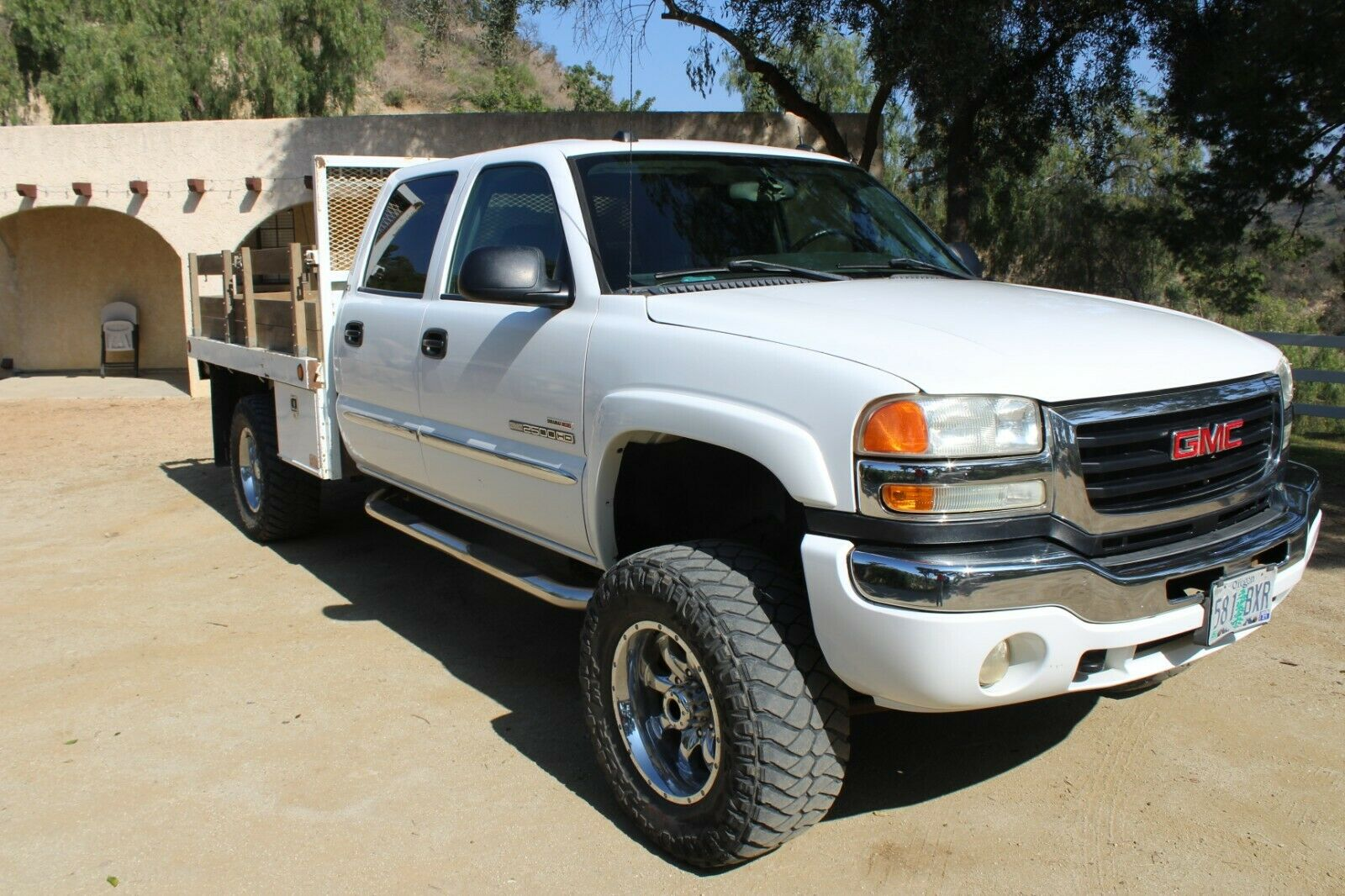well equipped 2005 GMC Sierra 2500 SLT HD lifted for sale