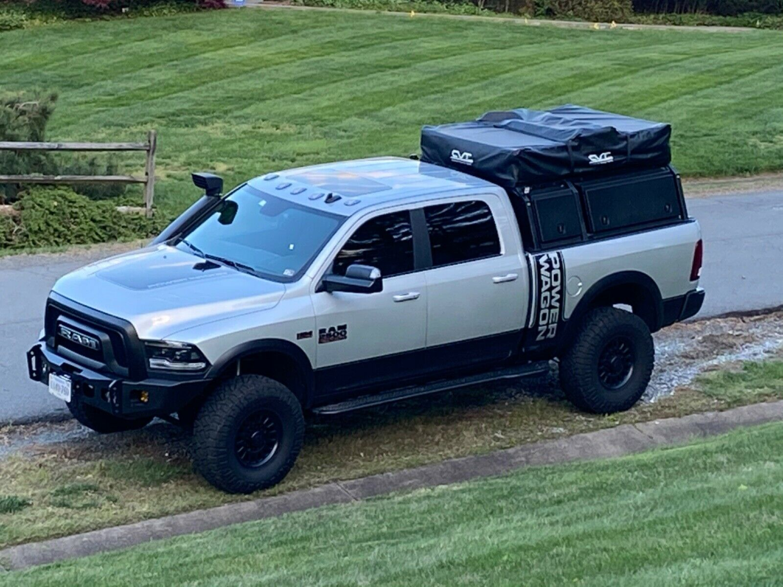 well modified 2018 Ram 2500 lifted for sale