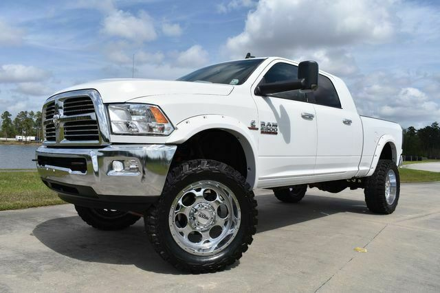 clean 2013 Ram 2500 SLT lifted for sale