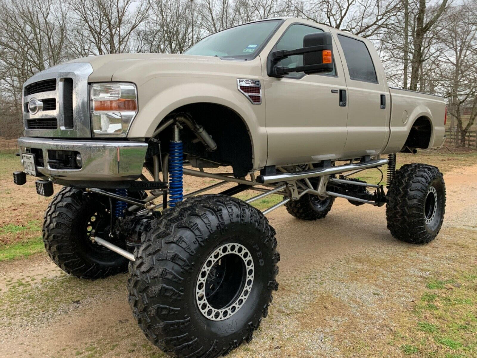 low miles 2009 Ford F 250 Xlt lifted for sale