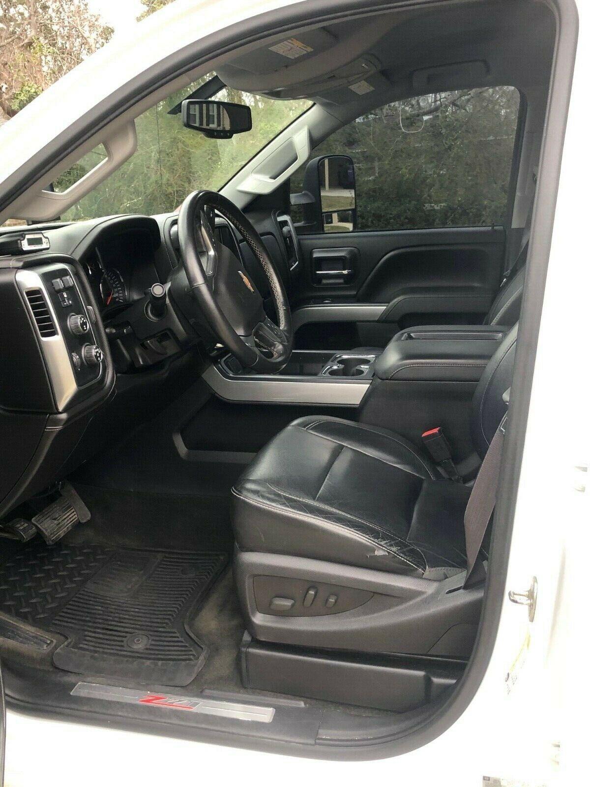 upgraded 2015 Chevrolet Silverado 2500 LTZ lifted