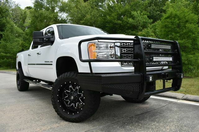 very clean 2013 GMC Sierra 2500 Denali lifted for sale