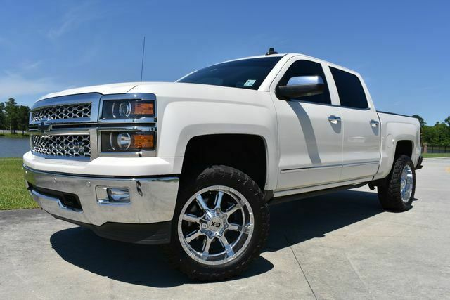 great shape 2015 Chevrolet Silverado 1500 LTZ Z71 lifted for sale