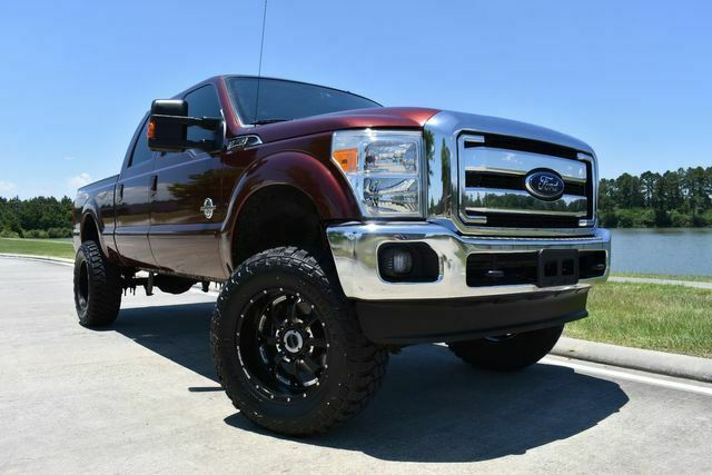 well equipped 2015 Ford F 250 Lariat lifted for sale