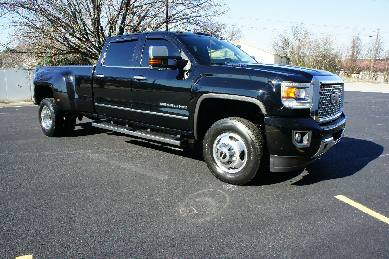 well equipped 2015 GMC Sierra 3500 DENALI lifted for sale