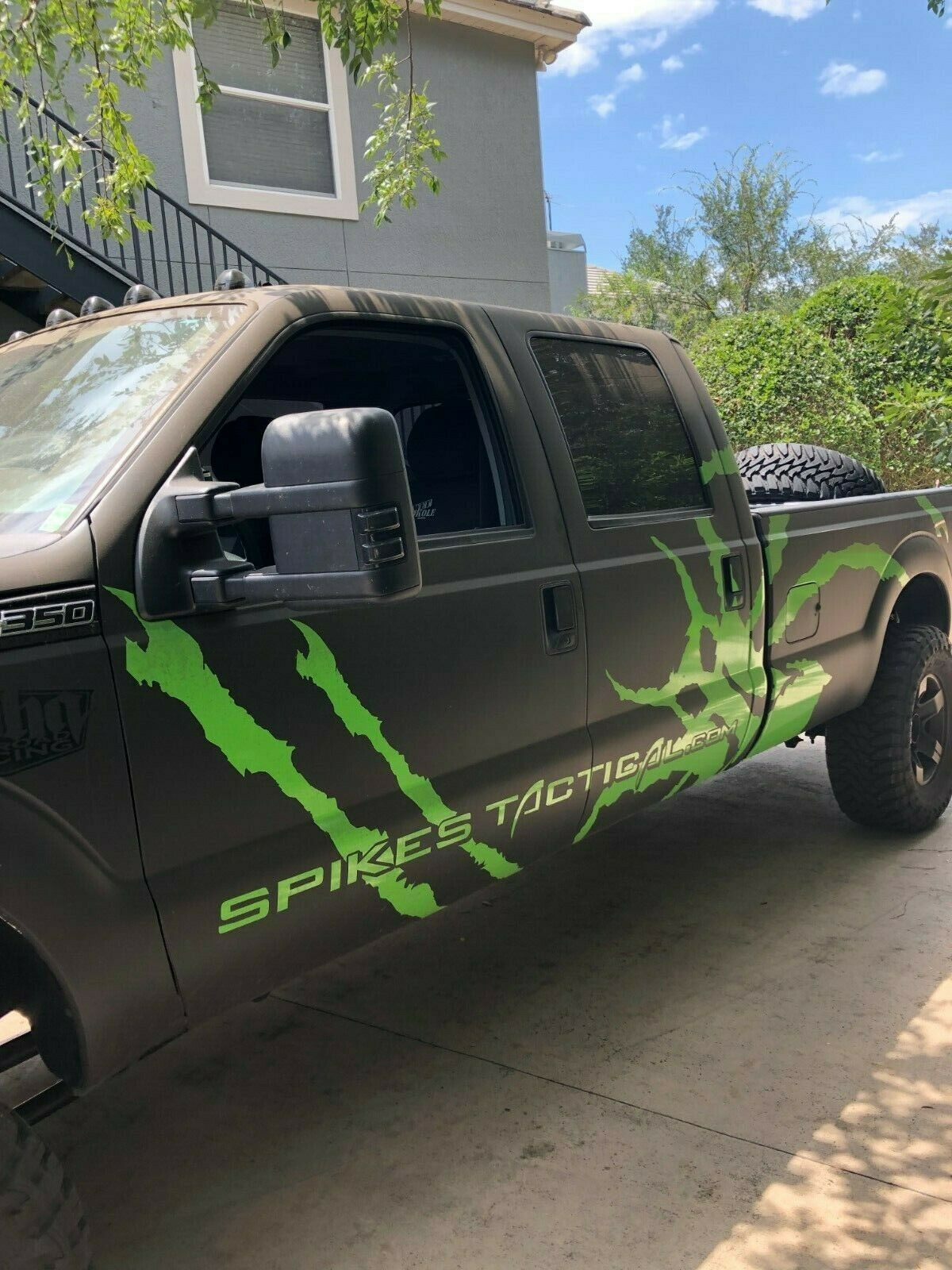 low miles 2012 Ford F 350 Baja Edition lifted