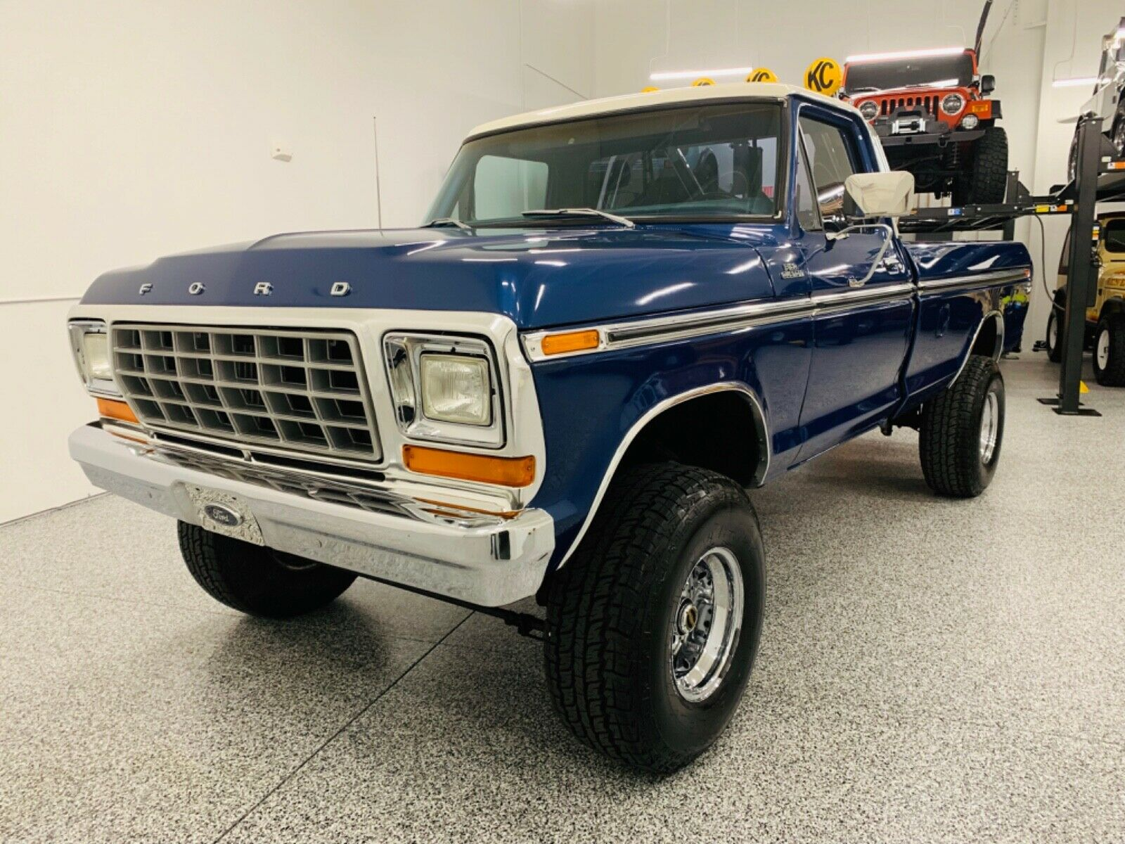 restored 1979 Ford F 150 Custom lifted for sale