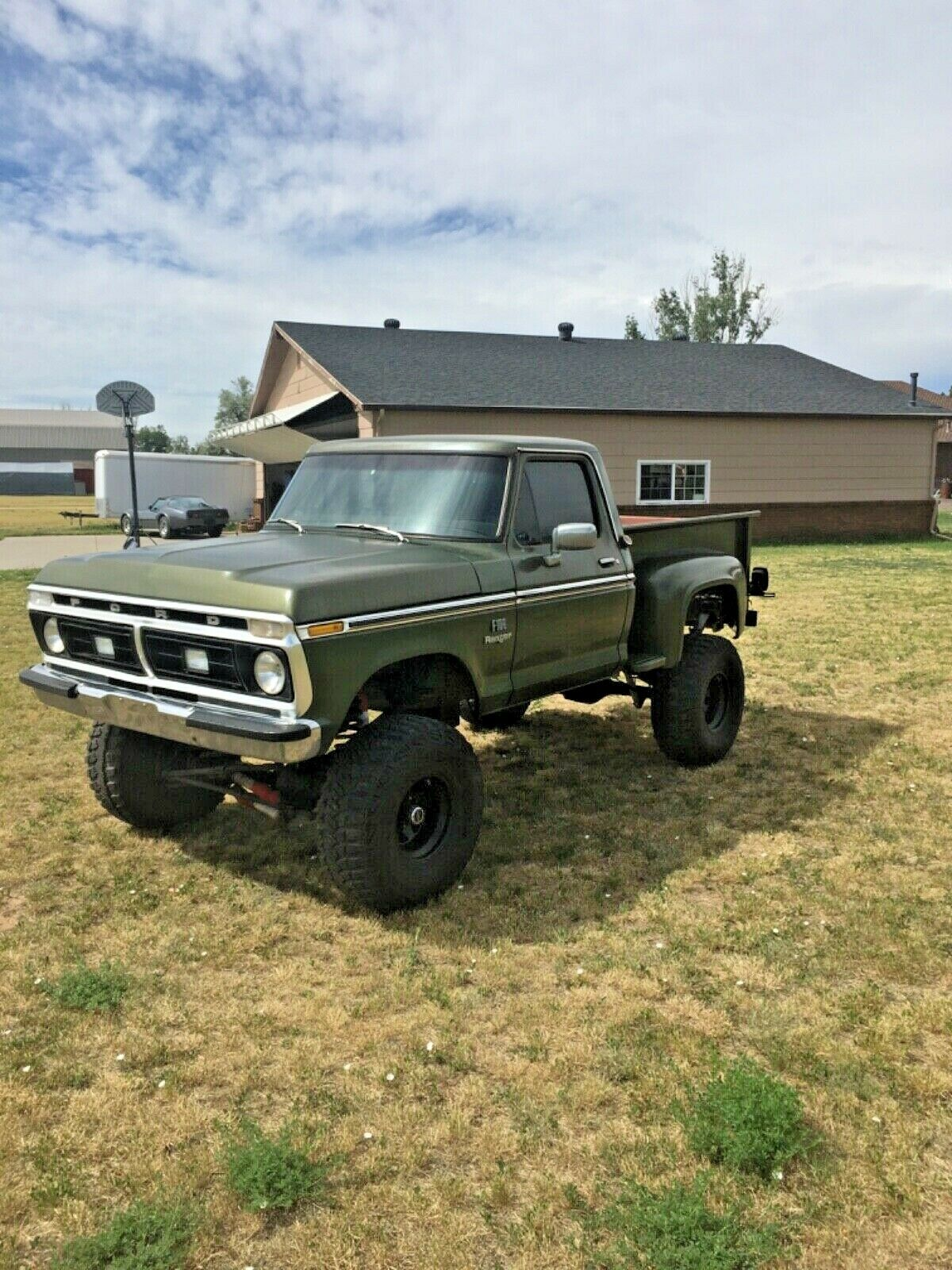 very solid 1976 Ford F 100 Ranger lifted for sale